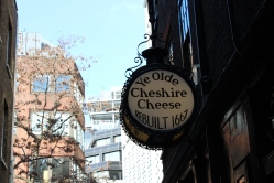 The oldest pub in London, the Cheshire Cheese, was a fabulous find. To put it in perspective, the building (which rather resembled a cross between a wine cellar and catacombs inside) was rebuilt in 1667.
