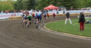 Each Little 500 team can have up to four racers to help complete the 200 lap event.